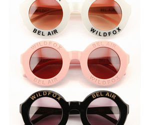 wildfox, sunglasses, and black image