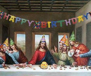 xmas, happy birthday jesus, and birthday jesus image