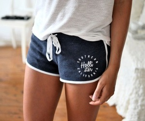 hollister, shorts, and outfit image