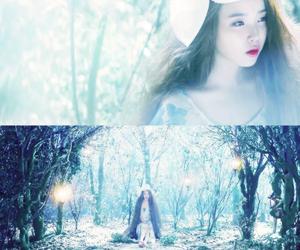 korean, lily, and iu image