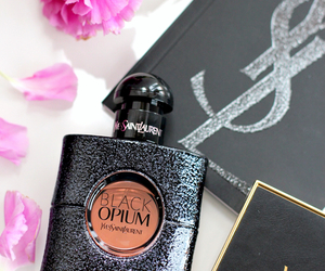 perfume, black opium, and black image