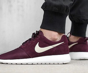 dark red, shoes, and sneaker image