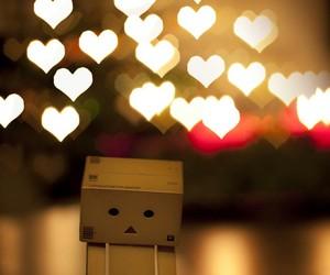 danbo and hearts image