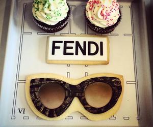 cupcake, sweet, and fashion food image