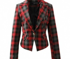 red blazer, winter clothes, and green blazer image