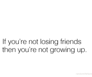 quote, true, and friends image