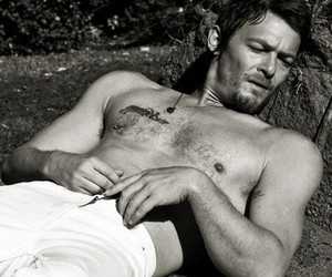 sexy, dixon, and the walking dead image