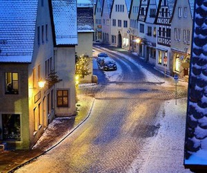 winter, snow, and germany image