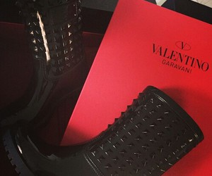 Valentino, boots, and luxury image
