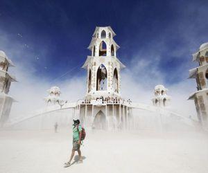 amazing, Burning Man, and Temple image