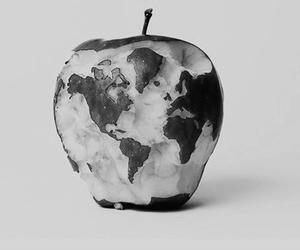 apple, world, and food image