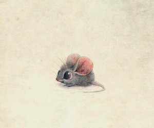 little, mouse, and cute image