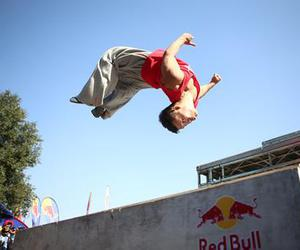parkour and follow back image