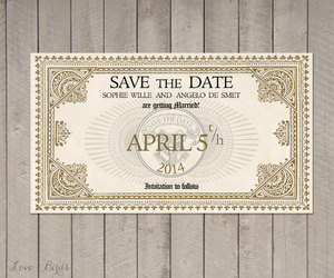 geeky, hogwarts express, and save the date image