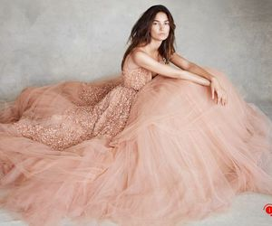 dress, model, and Lily Aldridge image