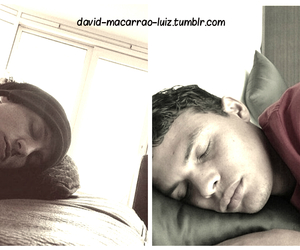 thiago silva, david luiz, and baes sleeping image