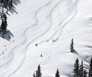 Skiing, snow, and ski image