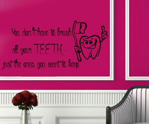 bathroom, Dental, and quote image