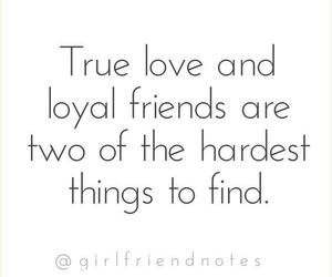 friends, quote, and true love image