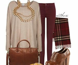 brown, burgundy, and fall image