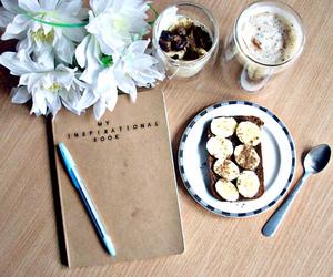 sweet, toast, and coffee image
