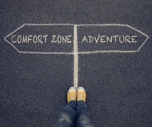 adventure and comfort zone image