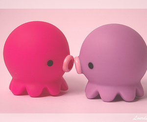 cute, kawaii, and octopus image