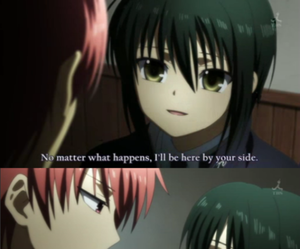 anime, angel beats, and funny image