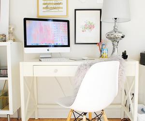desk, inspiration, and interior image