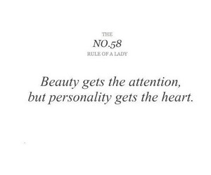 quote, beauty, and personality image