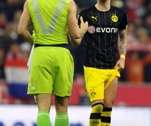 manuel neuer, marco reus, and boy image