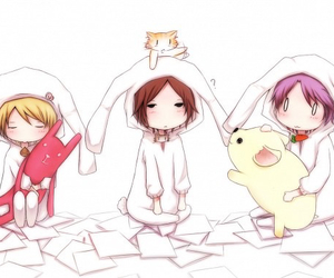 bunny, chibi, and clear image