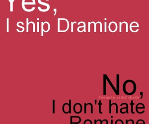 harry potter, dramione, and romione image