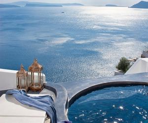 blue, luxury, and pool image