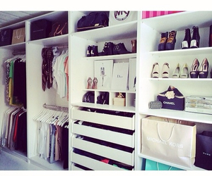 closet, clothes, and chanel image