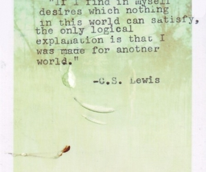 quotes, c.s. lewis, and world image