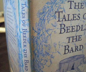book, harry potter, and beedle the bard image