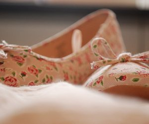 floral, cute, and shoes image