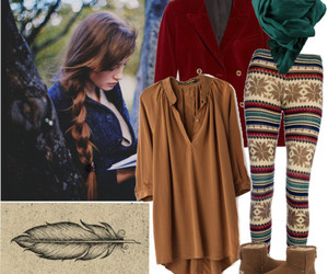 autumn, fashion, and pattern image