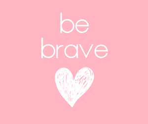 pink and brave image