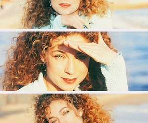 doctor who, river song, and alex kingston image