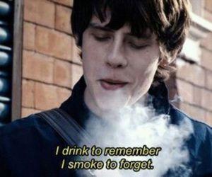 smoke, jake bugg, and drink image