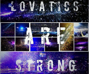 demi lovato, strong, and lovatics image