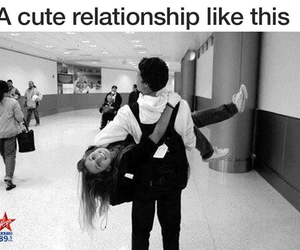 cute, love, and couple image