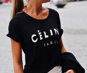 fashion, celine, and girl image