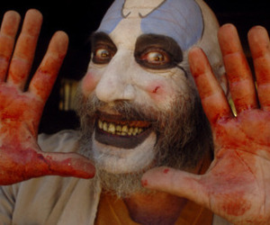 captain Spaulding, clown, and horror image