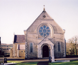 church and vintage image