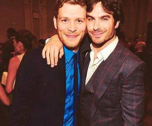 ian somerhalder, joseph morgan, and tvd image
