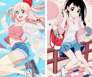 anime, nisekoi, and chitoge image