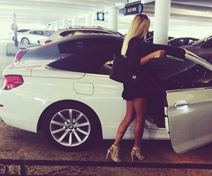 car, luxury, and blonde image